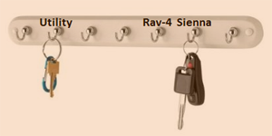 Organizing Car Keys